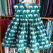 Geranium Elephant Dress, back view.