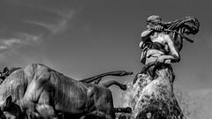 Fountain and Statue: Kastellet, Copenhagen (Eric K Gross) Tags: fountain copenhagen kastellet
