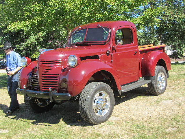 classic truck antique pickup dodge 1944 foundersday powerwagon