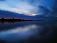 Dance of The Blues (Louise Lindsay) Tags: sunset house seascape water point landscape kayak fl keylargo 113 2014 frommykayak 9714and814
