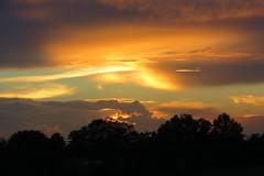 July Sunset in Poplarville MS (axollot) Tags: sunset summer mississippi july sunsets poplarville ruralmississippi axollot