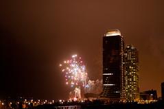 (niac180) Tags: barcelona fireworks bcn barcelone mapfre