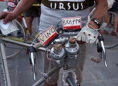 L'Eroica (NextStar85) Tags: trip travel italy bike bicycle vintage october italia tuscany chianti toscana viaggio gaiole eroica bicicletta ottobre leroica wallroad