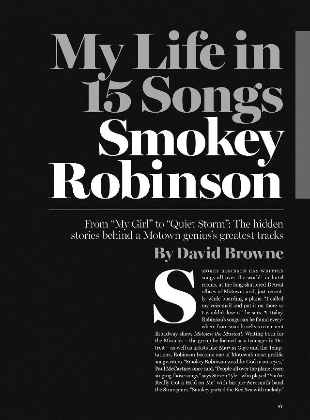 Smokey Robinson, es ist Weihnachtszeit