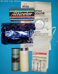 Lumiere Alticolor 120 autochrome reversal colour film (expired July 1956) (Vintage expired film photographer) Tags: colour 120 film lumiere 1956 expired autochrome alticolor
