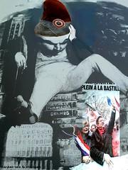 Victor Hugo et le gnral Boulanchon (lewshima) Tags: bonjourtristesse victorhugo mlenchon gnralboulanger