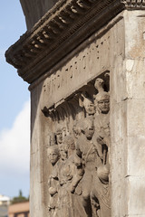 Arch of Constantine - 2 (Paul Dykes) Tags: italy sculpture rome roma italia triumphalarch basrelief archofconstantine ancientrome emperorconstantine