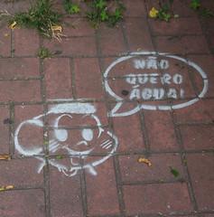 grafite de quadrinho (PortalJornalismoESPM.SP) Tags: grama grafite arlivre pensamento quadrinho