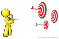 Design Mascot Aiming Multiple Targets (clipartillustration) Tags: red abstract man color cute men sport illustration person design marketing shiny image character performance mascot glossy human target bullseye faceless concept success darts vector concentric perfection humanoid concepts projectile aspirations individuality aiming vibrantcolor threeobjects consistency illustrationandpainting