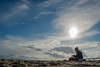 Knittin on the Sand (Benjchabeau) Tags: sea sun beach clouds soleil dune bordeaux sable benjamin nuages teste plage arcachon bassin pila pyla bassindarcachon capferret pilat aquitaine dunedupyla latestedebuch lasalie chabeau flickrunitedaward benjaminchabeau