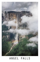 Angel Falls (pollylew) Tags: poster waterfall venezuela angelfalls cascade tepuis