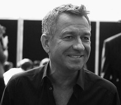 Sean Pertwee, Alfred, Gotham, New York Comic Con 2014, US, 12th Oct 2014 (joelmeadows1) Tags: portrait monochrome tv batman actor series gotham