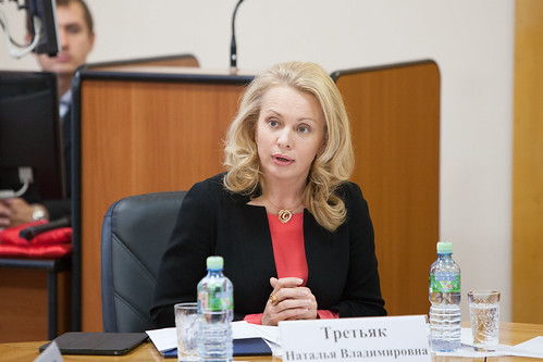 Первый заместитель Министра образования и науки Российской Федерации (заместитель председателя коллегии) Наталья Третьяк