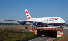 British Airways Airbus A380 (Rami Khanna-Prade) Tags: canon aircraft airbus ba britishairways avion tls rami 24105mm airbusindustrie superheavy a380800 a388 lfbo airbusa380841 fwwsm 5dmkii aeroporttoulouseblagnac toulouseblagnacairport ramikhannaprade gxleh msn163