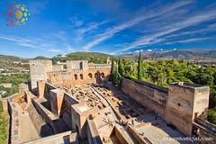 Alhambra, Granada (Tony Glvez) Tags: world heritage de la site espanha andalucia unesco da alhambra granada mundial total humanidad patrimonio humanidade andaluzia