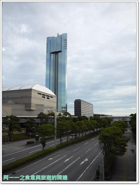 日本千葉景點東京自助旅遊幕張海濱公園富士山image001