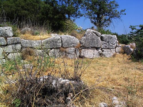 Lykosoura, Arkadia: polygonal masonry 2