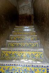 Cermicas en el Palacio Ali Qapu Isfahn Irn 01 (Rafael Gomez - http://micamara.es) Tags: en ceramics iran persia el palace ali   paredes isfahan azulejos palacio irn   techos  suelos qapu cermicas   isfahn