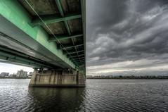 Bridge Backside (akirat2011) Tags: weather japan cloudy osaka