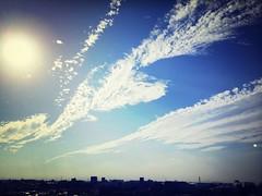 Sky Clouds And Sky Sun