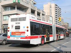 Toronto Transit Commission #9056 (vb5215's Transportation Gallery) Tags: toronto bus nova ttc transit commission artic lfs 2014