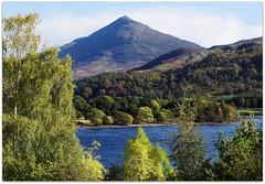 Schiehallion (eric robb niven) Tags: autumn landscape cycling scotland dundee perthshire loch rannoch kinlochrannoch ericrobbniven pentaxk50