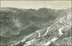 3139 R Boka Kotorska Bay of Kotor Le Bocche di Cattaro Kotor Montenegro sent 21.VI.1941. (Morton1905) Tags: de bay von le r di sent montenegro bocche bucht kotor boche boka cattaro kotorska 3139 которска бока càtaro 21vi1941