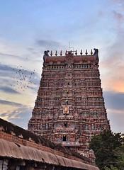 East Gopuram(Tower gate) of Meenakshi Amman Temple