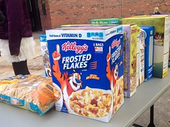 Cereal Boxes Food Bank Donation (stevendepolo) Tags: food cereal bank donation boxes