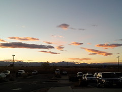 October 4, 2014 - A gorgeous sunset in Thornton. (David Canfield)