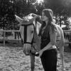 Un nuevo amigo - Sesión con caballos en Covarrubias (aremesal) Tags: portrait horses analog caballos analógica retrato hc110 burgos analogphotography doma flexaret covarrubias ilfordhp5400 kodakhc110 hc110h flexaretva flexaretv withhorses hc110rodinal flexaretvadev10 concaballos