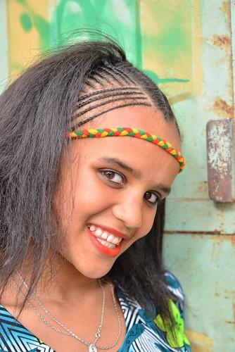 Ashenda Girl, Mekele, Ethiopia