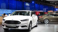 Ford Mondeo Hybrid (frontal)