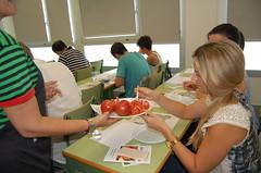 Degustación tomate ecológico puntdesabor 16
