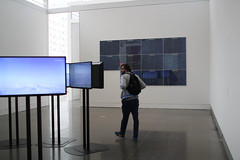 Attendance was sparse (ktmqi) Tags: newyork art modernart nonobjective thequeensmuseum