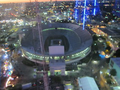The Cotton Bowl from Above
