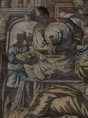 Le Banquet, dtail, tapisserie de Bruxelles, salle de Bal (ancien mange), Hopetoun House (XVIIIe), South Queensferry, West Lothian, Ecosse, Grande-Bretagne, Royaume-Uni. (byb64) Tags: uk greatbritain castle hope scotland europa europe unitedkingdom eu escocia ballroom banquet hopetoun castello chteau mange castillo linlithgow tapestry burg ue schottland queensferry southqueensferry repas reinounido westlothian ecosse scozia grossbritanien tapiz tapisserie hopetounhouse royaumeuni granbretana grandebretagne arazzo williamadam xviiie vereinigtesknigreich salledebal williambruce bildvirkerei