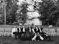 Sean and his friends (Anton Welt) Tags: wedding friends portrait outdoors groom countryside classy