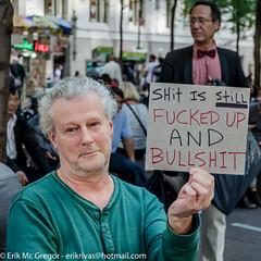 EM-141014-OWS-001 (Minister Erik McGregor) Tags: nyc newyorkcity newyork art revolution activism occupation 2014 ows russellbrand rustyrockets occupywallstreet owsnyc erikrivashotmailcom erikmcgregor 9172258963 ©erikmcgregor solidarity