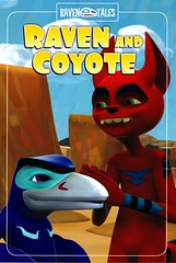 Raven and Coyote (Vernon Barford School Library) Tags: vernon barford library libraries new recent book books read reading reads junior high middle school vernonbarford nonfiction paperback paperbacks softcover softcovers folklore nativepeoples native people peoples canada canadian canadians american americans alaska nativeamerican nativeamericans haida haidas legend legends legendary raven ravens legendarycharacter legendarycharacters character characters bird birds graphic novel novels graphicnovel graphicnovels graphicnonfiction david bouchard simon daniel james chris kientz 9 9781770581456 coyote humananimalrelationship humananimalrelationships fnmi bookcover bookcovers cover covers firstnationsinuitmetis firstnations aboriginal comics cartoons