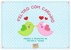 BoniFrati - Feltro com Carinho (BoniFrati) Tags: cute diy craft livro feltro ebook tutorial pap projetos tecido moldes tutoriais bonifrati livrinho faavocmesmo