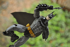 Spru-Bat! (skipthefrogman) Tags: fun toy action figure batman kit bandai spru sprukits