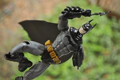 Spru-Bat! (skipthefrogman) Tags: fun toy action figure batman kit bandai spru sprukits