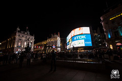 Piccadilly Circus (andrea.prave) Tags: uk light england london luz night square strada nacht lumire piccadillycircus londres piazza londra notte luce inghilterra      incrocio visitlondon      londonpass