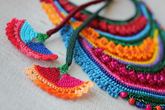 beaded freeform crochet necklace - statement necklace with orange, red, magenta pink, teal blue and green seed beads and crochet flowers by irregularexpressions (irregular expressions) Tags: pink flowers blue red orange green art thread grass yellow necklace beads purple cardinal turquoise teal bib crochet magenta fuchsia indigo jewelry lilac cotton button statement kelly wearableart wearable fiberart fiber beaded deepred textileart freeform delica seedbeads rainbowcolors beadednecklace grassgreen beadcrochet freeformcrochet kellygreen ceruleanblue delicabeads turquoiseblue crochetnecklace tealblue fuchsiapink beadedcrochet crochetart cardinalred magentapink cottonfiber coralred beadedlace irregularexpressions statementnecklace statementjewelry acrylicthread freeformcrochetnecklace amaranthpink brightgrassgreen statementnecklacet beadedcrochetnecklace