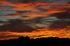 """Skyline"" d'Altafulla (Perikolo) Tags: sunset sun sol skyline clouds atardecer nubes puesta tarragona posta torredembarra nvols altafulla tarragons capvespre"