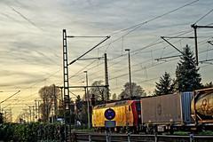 DB_Streik....dauert..... (CB-Photos) Tags: sunset power sony parking zug db streik bahn strom a58 halteverbot markranstädt