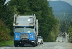 (Ian Threlkeld) Tags: canada nikon bc disposal semi waste refuse mapleridge trucking peterbilt semis garbagetrucks d80