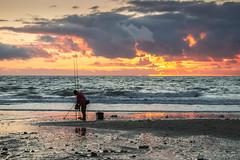 Last light, last night (babs pix) Tags: sunset fishing westwales gwynedd cardiganbay sunsetsea seafishing tywynbeach tywynseafront snowdoniamountainsandcoast tywyngwynedd