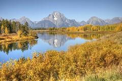 011 20140920 GTNP IMG_8912 (jvlady) Tags: autumn mountains reflection fall snakeriver grandtetonnationalpark oxbowbend mtmoran
